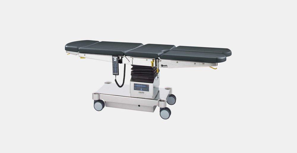 Medifa 6000 serie - The mobile universal operating table medifa 6000 is suitable for numerous medical specialties in the outpatient and inpatient area. High efficiency and intelligent functionality ensure an efficient work design.click here for the online brochure