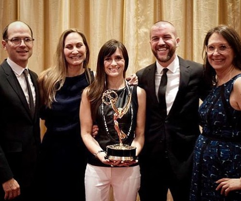 Huge congrats to grantee @elainemsheldon and her incredible team for winning an Emmy for outstanding short documentary at last night's #Emmy Awards! 👏🏼👏🏼👏🏼👏🏼👏🏼👏🏼👏🏼👏🏼👏🏼👏🏼👏🏼👏🏼👏🏼👏🏼👏🏼 #heroine #emmys #glassbreakerfilms #repost @elainemsheldon