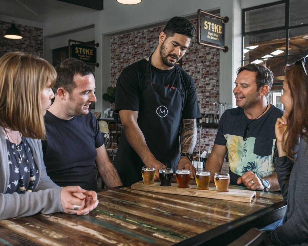 Great Taste Beer - Adult $95 NZDEnjoy a super-relaxed cycling day and visit the three breweries close to our base in Stoke. Door-to-door from Nelson.