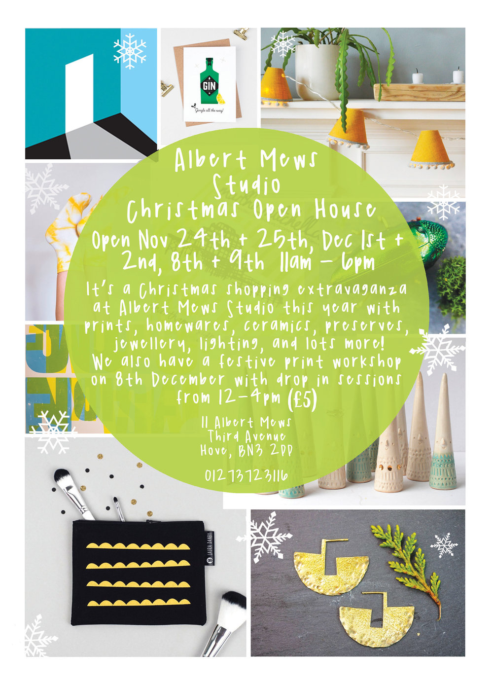 Albert Mews Studio Christmas Open House 2018 - Flyer Back.jpg