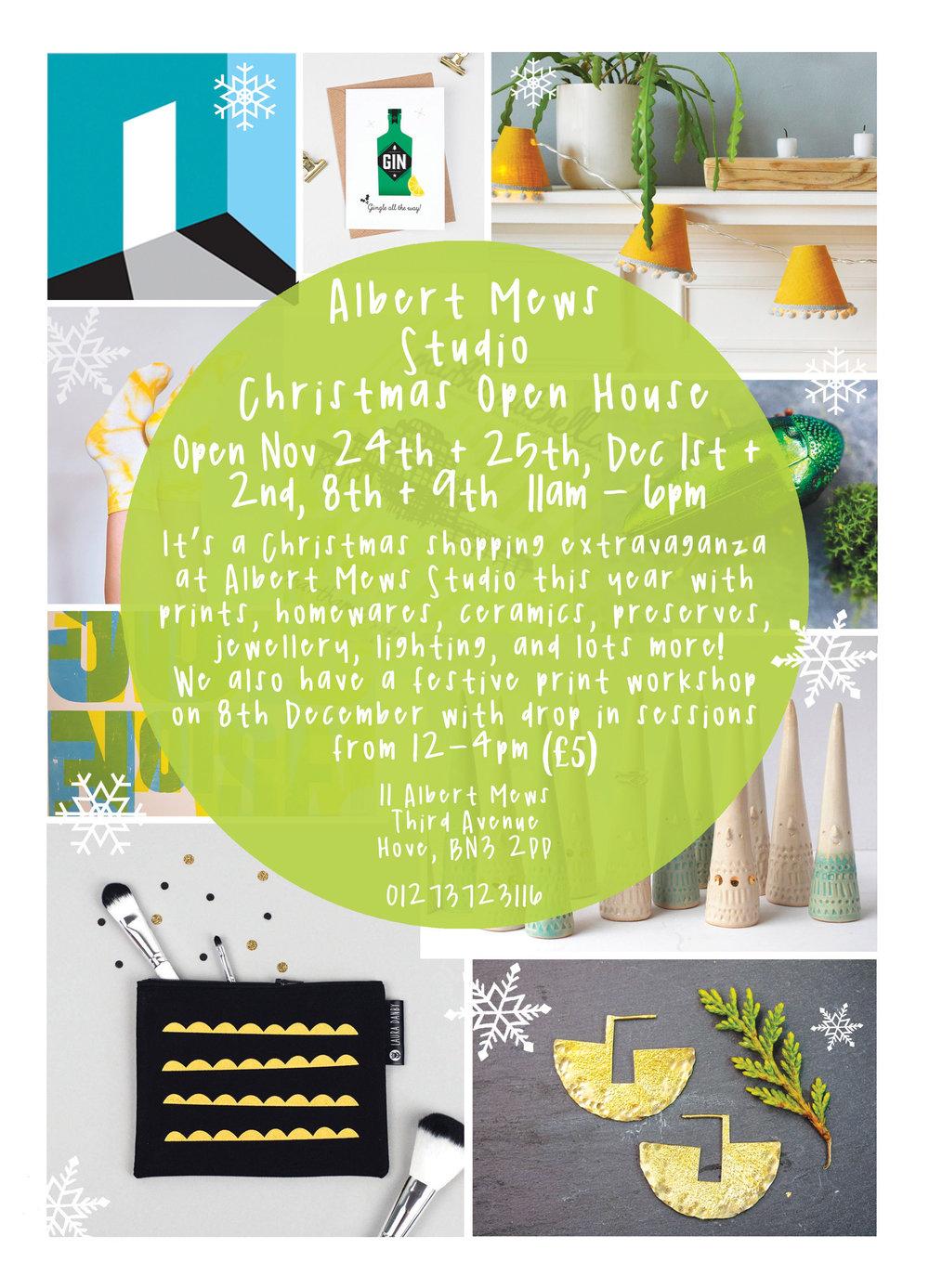 Albert Mews Studio Christmas Open House 2018 - Flyer Back.jpg