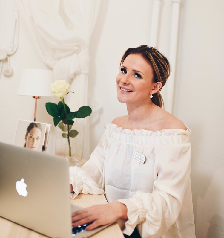 Sairaanhoitaja Charlotte Fellman