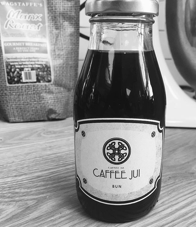 Caffee Jui, a locally made cold brew coffee using natural, Manx ingredients. Caffee Jui is brought to you by JumpStart #caffeejui #jumpstart #NotAlwaysHot