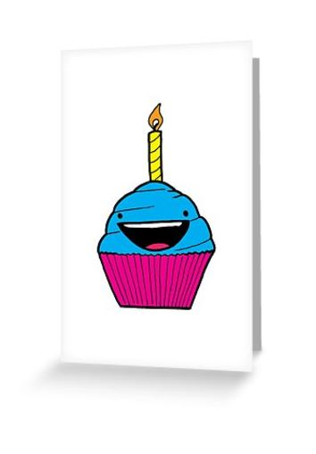 Happy Cupcake - (Available on a wide range of products through RedBubble)