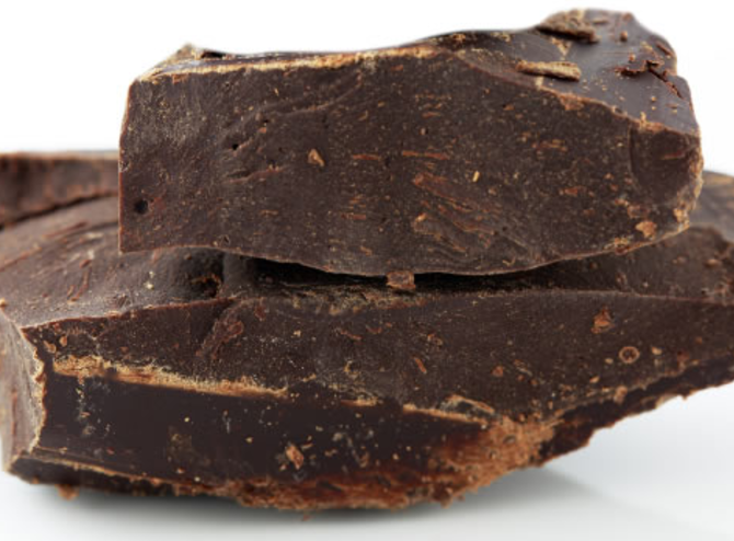 """Physical Benefits - Cacao contains potassium, phosphorus, copper, iron, zinc, and magnesium which contribute to cardiovascular health. Cacao has the ability to trigger the release of dopamine and the endorphin; phenylethylamine, both of which soothe the symptoms of premenstrual syndrome and depression. Scientific research now confirms that chocolate helps to relieve emotional stress.Most importantly, it contains anandamide, the bliss molecule. Anandamide is an endogenous ligand that your body produces when you feel a workout """"high."""" It is a natural pleasure molecule that fits into the cannabinoid receptor sites of the cells of the nervous system.Raw Cacao also contains powerful antioxidants along with a significant amount of chromium, which balances blood sugar levels. It increases the blood flow to the brain, creating more mental agility, awareness and focus."""