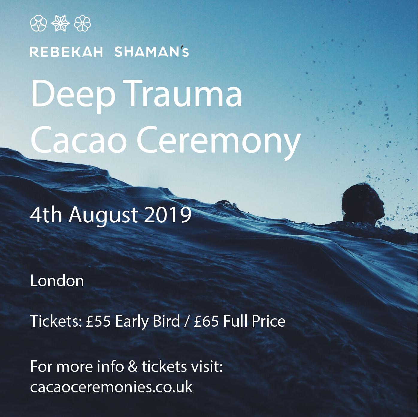 Cacao Ceremony: Deep Trauma