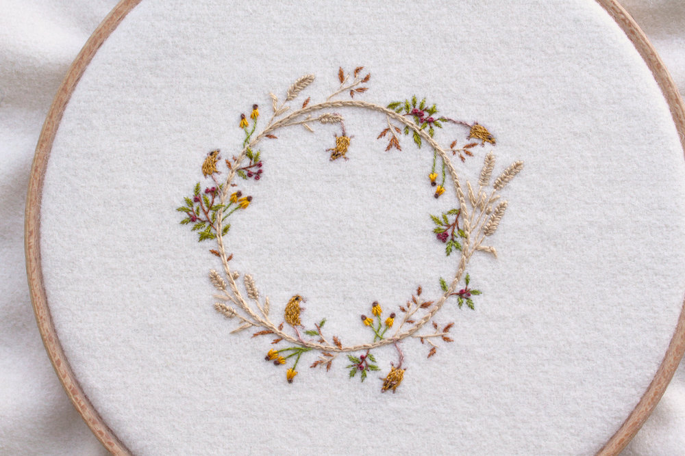 Harvest Wreath - 2016