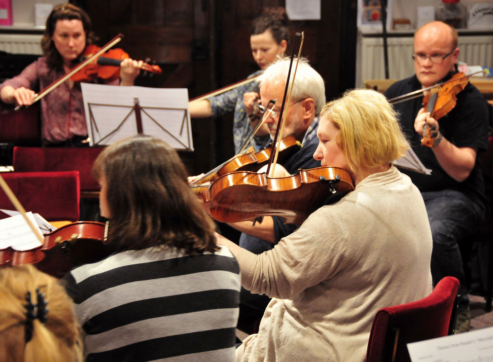 Linlithgow String Orchestra meet