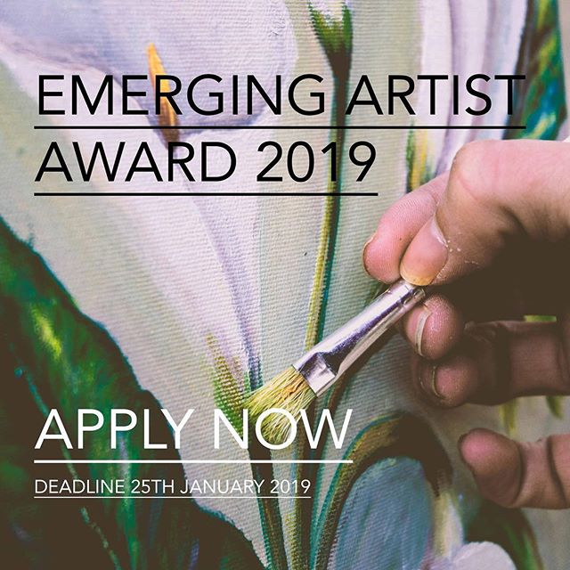 🔴CALLING ALL ARTISTS - DEADLINE 25th JANUARY🔴  Just 3 weeks left to enter the Creates Gallery Emerging Artist Award - with over £2000 in prizes to be won! Boost your career in 2019 with this award by winning up to £1000 in cash prizes, a feature in our UK wide publication and exhibit in a public exhibition at Creates Gallery in Monmouth. Professional Artists, Amateur and Students based in the UK can enter up to three pieces! Good luck! Click the link below to apply and find out more: https://www.createsgallery.com/emerging-artist-competition Deadline: 25th January 2019 . . . . . #createsgallery #mixedmedia  #contemporaryart #modernart #fineart #abstractart #artgallery #abstract #painting #contemporary #artcollector #artoftheday #gallery #contemporaryartist #oilpainting #instaart #mixedmedia #arte #contemporarypainting #abstractpainting #abstractexpressionism #acrylic #popart #abstraction #painter #exhibition #expressionism #artlovers #artsy #artstudio