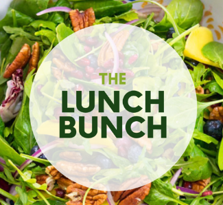 the lunch bunch - Eating healthy at work just got easier! Choose five entrees from the current week's menu paired w- one of our 16 oz drinks or Fiji water for a fully prepared grab and go lunch. Order cutoff Thursday. Delivered Sunday.$60