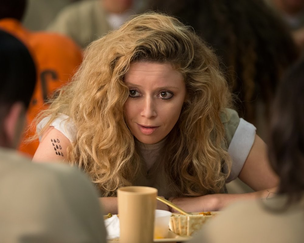 NATASHA LYONNE - It's a sticky August day in the East Village and Natasha Lyonne is toying with the existential terror of procreation. This is partly because we're talking about her new movie, Antibirth, and partly because Lyonne, 37, has fought tooth-and-nail to get to the place of relative calm she's at now.