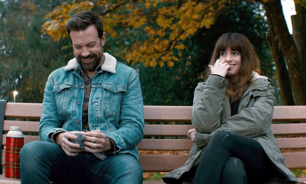 ANNE HATHAWAY & JASON SUDEIKIS  - There is a lot going on in Anne Hathaway and Jason Sudeikis' new movie — which is why, over two years after filming Colossal, the actors are still having a tricky time nailing down exactly what it's about. Hathaway plays Gloria, a hard-partying writer who moves back to her hometown after losing her job and boyfriend (Dan Stevens). She spends her time getting sloshed at childhood friend Oscar's (Sudeikis) bar. And then shit gets weird when Gloria realizes she has something to do with the gigantic Kaiju monster she sees on the news attacking Seoul, South Korea. Really weird.With its bizarre premise and unpredictable screenplay (from Spanish writer-director Nacho Vigilando), Colossal is a thrillingly original ride. It's also a wonky vehicle for discussions about everything from toxic masculinity and sexism to alcoholism and self-destructive demons: a philosophical stoner's dream.While the movie itself is, in one obvious way, completely absurd, it never spins out into the stratosphere of ridiculousness, thanks to the thoroughly believable performances from Hathaway and Sudeikis. They are by turns charming and repulsive, brave and vulnerable. So we sat down with the pair to talk about the gospel of Kristen Stewart, what it actually means for a film to be