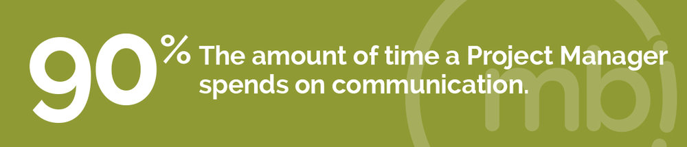 90% The amount of time a Project Manager spends on communication.
