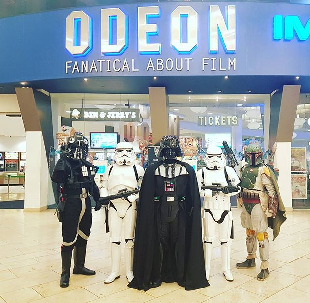 The Empire will return once more today at @IntuMetrocentre at Odeon to find the Rebel's Plans! #99Garrison #Starwars #RogueOne