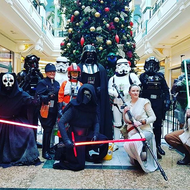 The 99th at the @intutraffordcentre today  Find them around the Orient and John Lewis and have a photo as we collect for @dreamflight_official