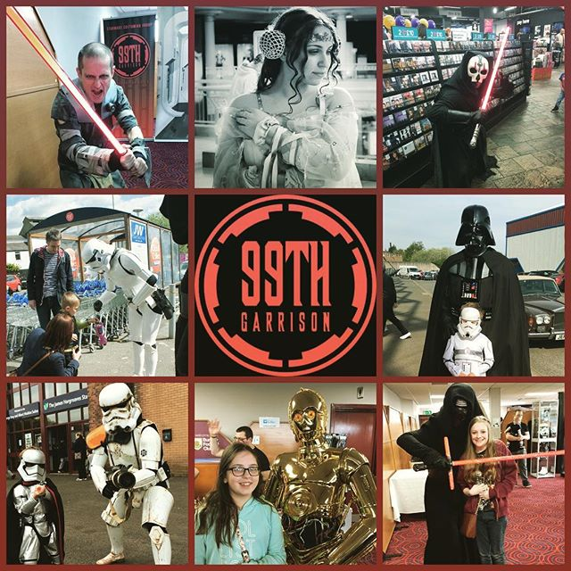 The admin team and members of 99th Garrison would like to thank everyone who has supported us at various events over the past 12 months and especially to those who have donated at collections or when we have attended a birthday or wedding.  You have helped us raise an astonishing amount of money this year that has all gone to various charitable causes.....100% of what goes into the buckets goes to the charity...we dont take anything from the collections.  So the total raised for 2017 is an amazing £39.336.34.  A large part of this is down to the hard work of the members who attend events in their own time.  Thank you the public and thanks to members of 99th Garrison.  Merry Christmas and a Happy New Year and May the Force be With You!