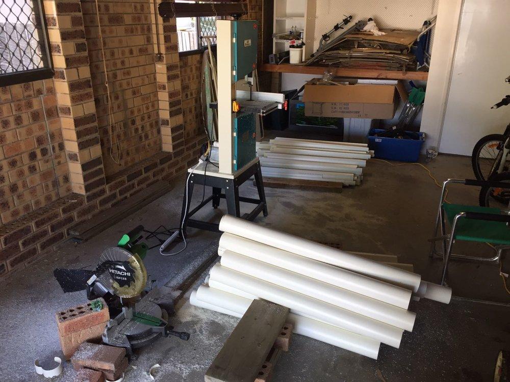 PVC Cutting Machine.