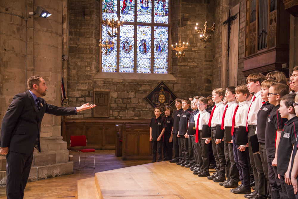 national youth choir of scotland - East Dunbartonshire Boys ChoirSt. John's Kirk, PerthMar 2017