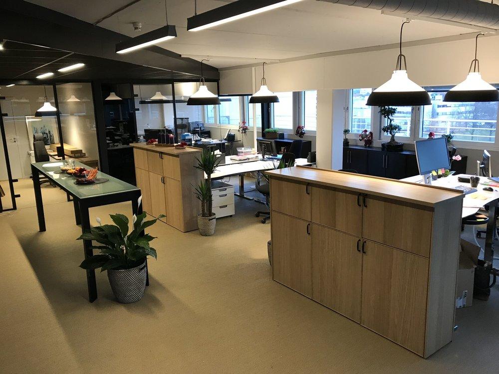 Vårt kontor -