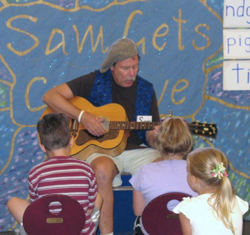 Rick Waterhouse - Rick Waterhouse is a children's performer, songwriter, guitarist, and puppeteer. Using his thirty years' experience in the elementary classroom and the creativity that has infused his twenty-year run on area stages, Rick creates and performs shows for schools, libraries, and community events in the Delaware, Maryland, Pennsylvania, and New Jersey region. Rick's programs teach and entertain children and parents with characters, interactive songs, hand-crafted puppets, and fun!