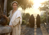 "Keisha Castle-Hughes stars as ""Mary"" in New Line Cinema's release of Catherine Hardwicke's drama, The Nativity Story."