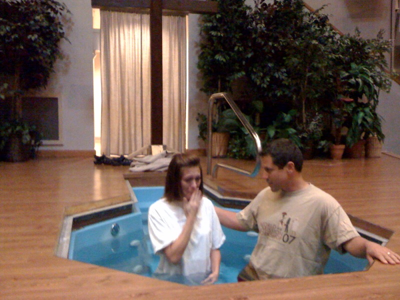 Holly Williams baptism