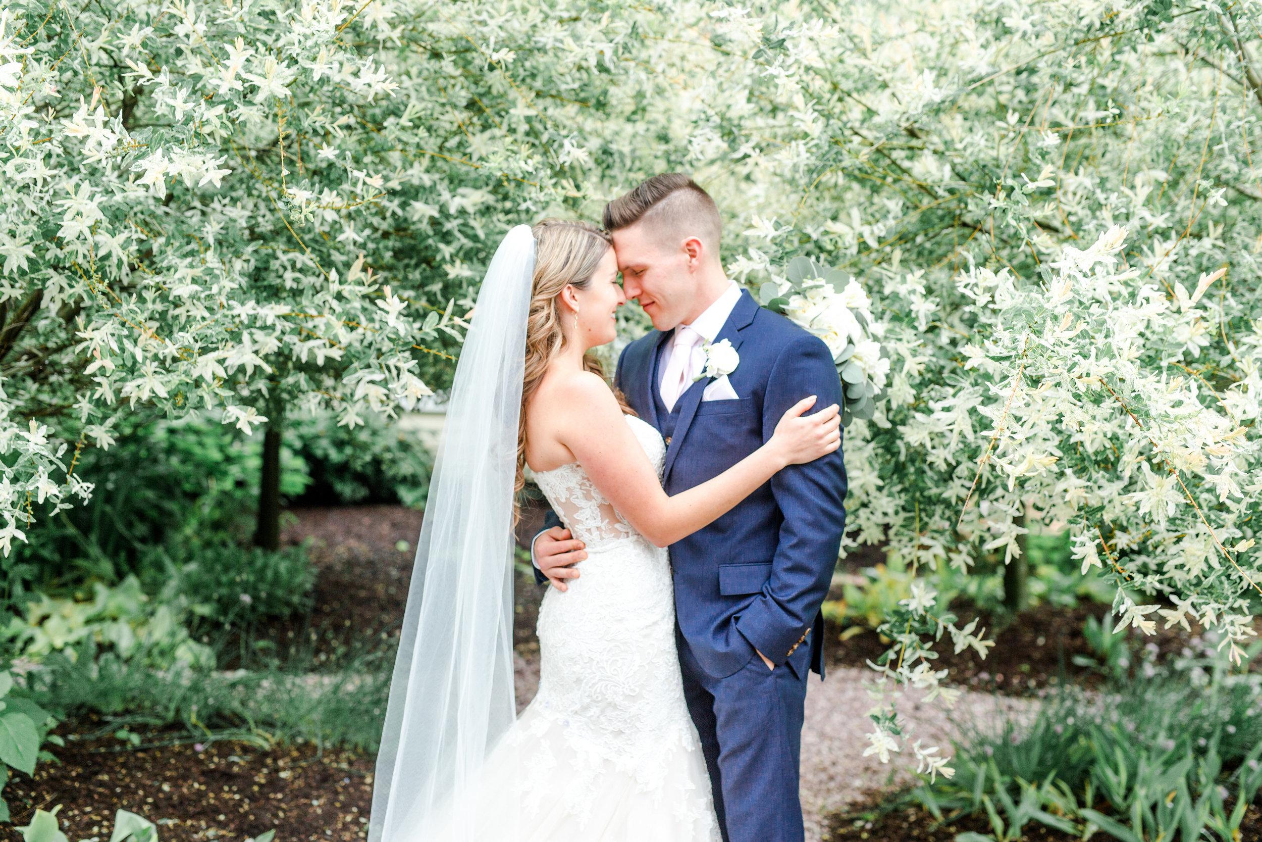 Caitlin + Benjamin   April Wedding — Antrim 1844