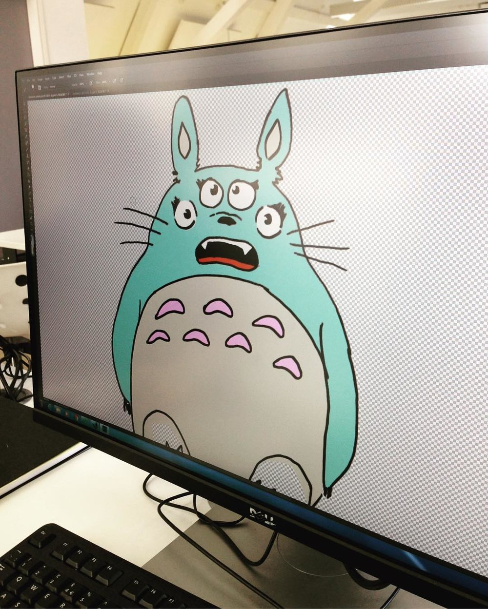 Adobe Photoshop character design workshop