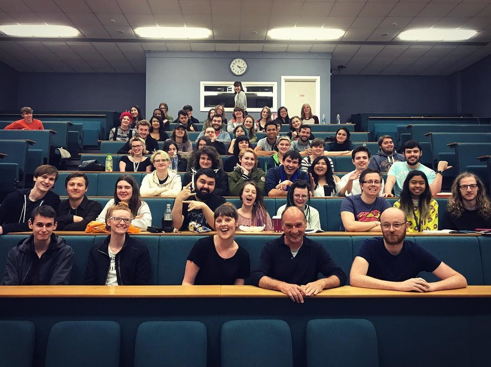NUA Animation staff and cohort
