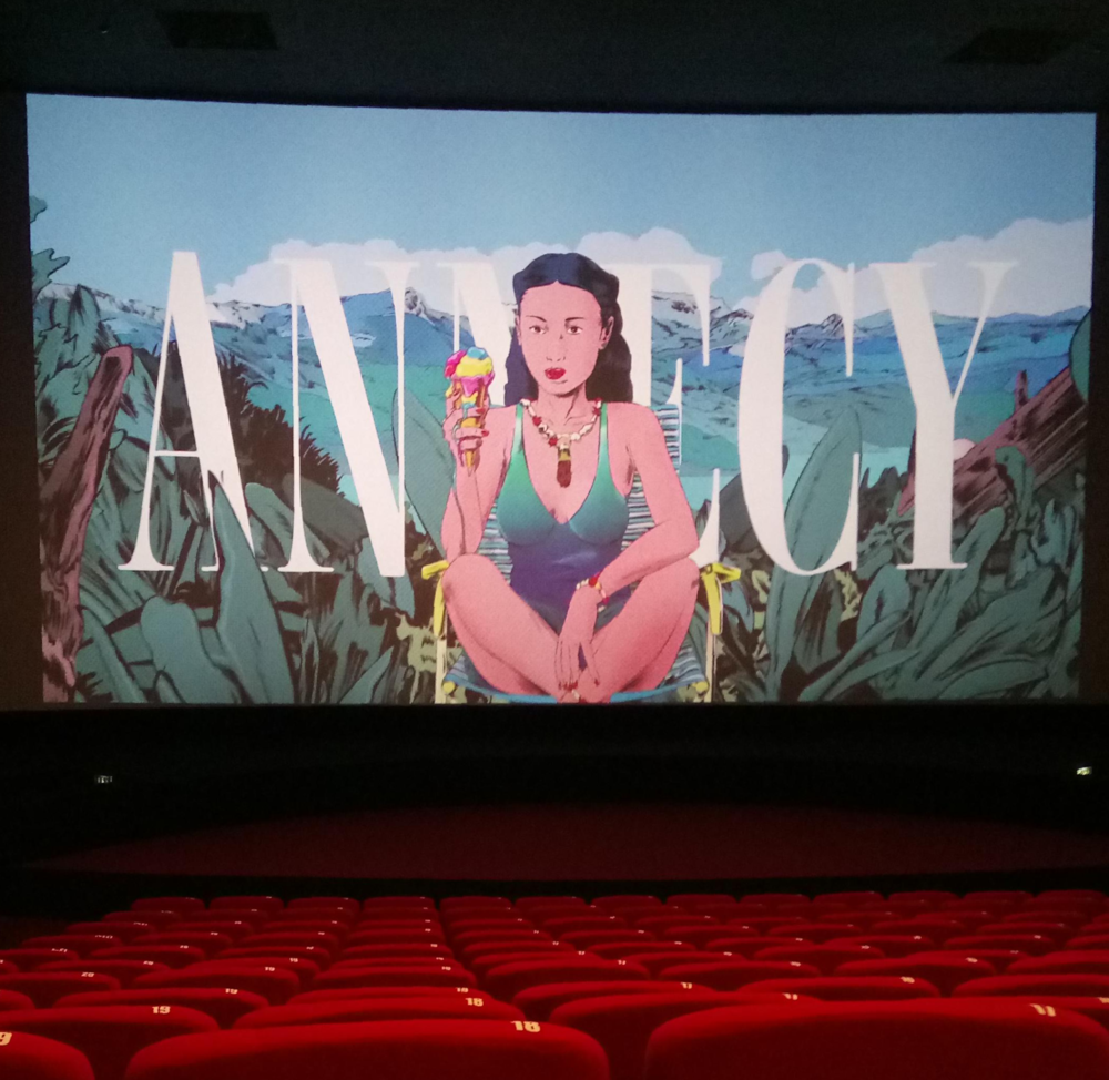 Graduate Haydn Spencer visits Annecy International Animated Film Festival