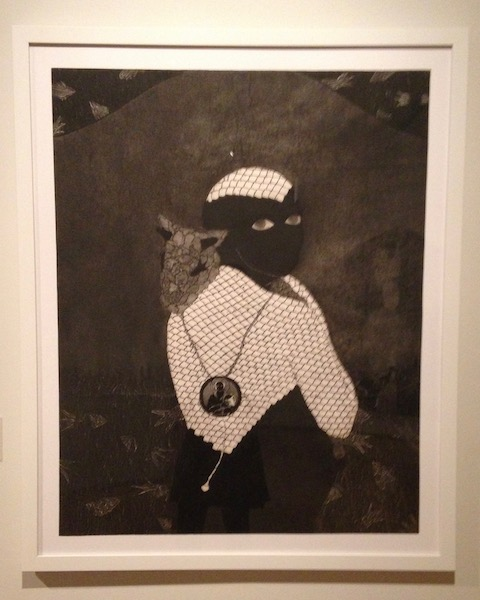 Untitled (Sikan with goat) , 1993
