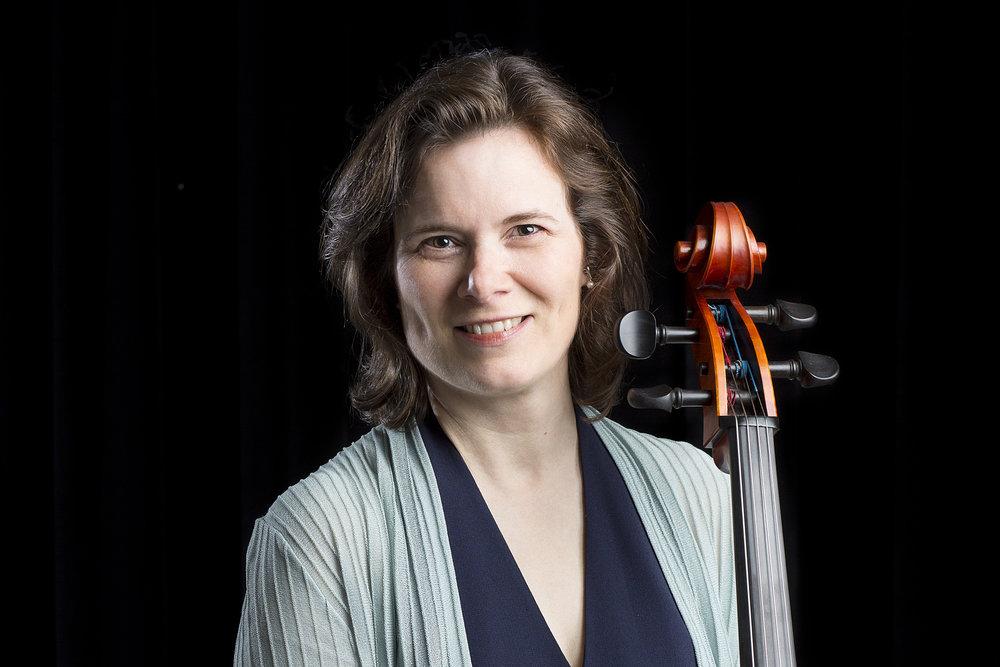 Amy Frost Baumgarten - Principal Cello