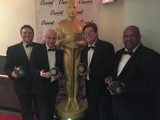 2015 Oscars Trumpets: Rob Shear, Dan Fornero, Wayne Bergeron & Fred Irby, III