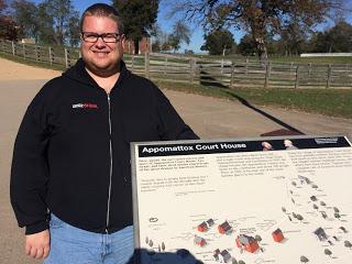 Doug at Appomattox Court House