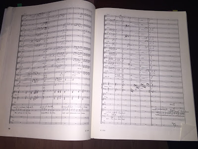 The score to Scene 2 of Das Rheingold