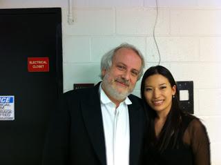 with Maestro Auguin
