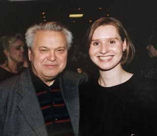 Mo. Fricke with Adria Sternstein Foster