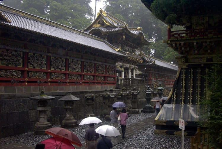 Rainy day in Nikko