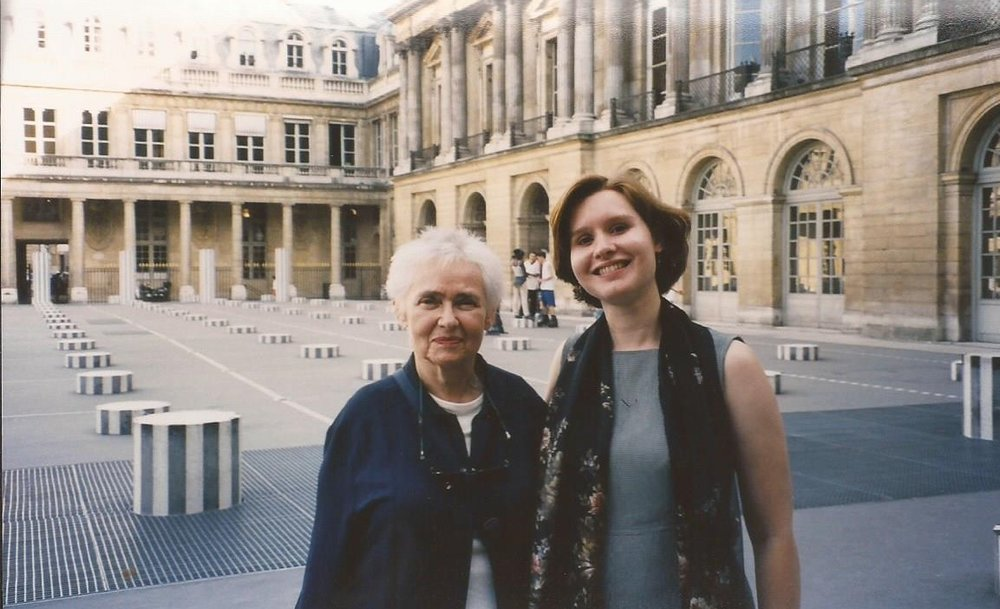 With my Aunt in Paris