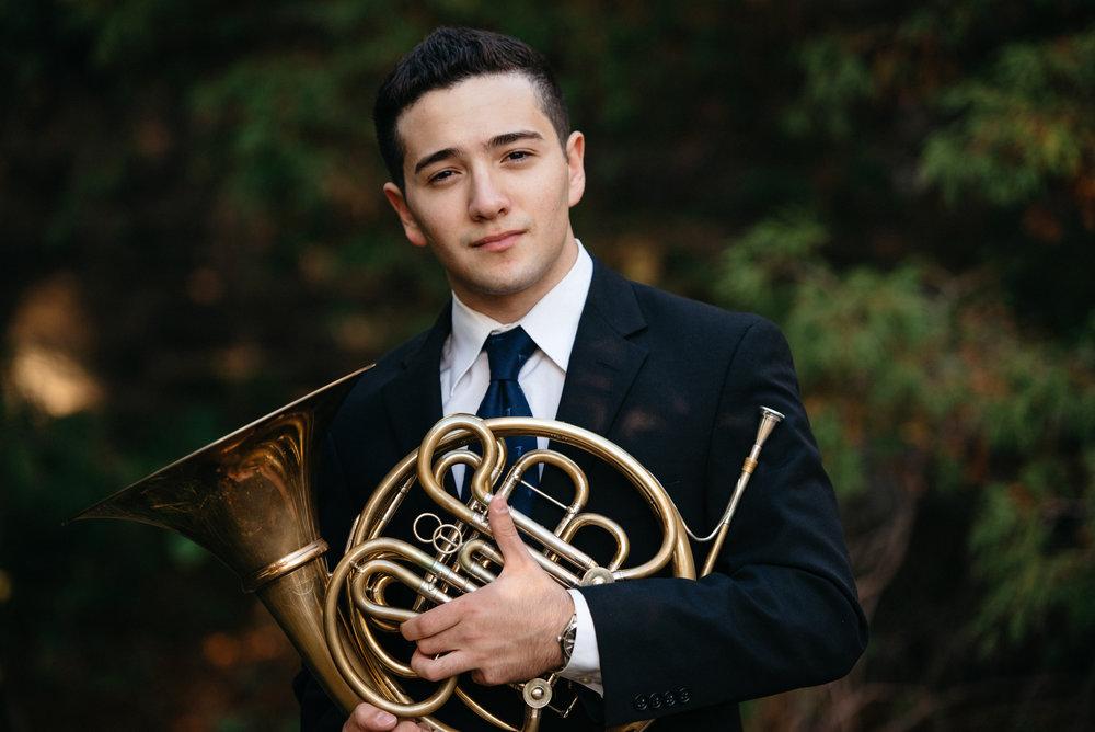 Nathaniel Silberschlag - Assistant Principal Horn