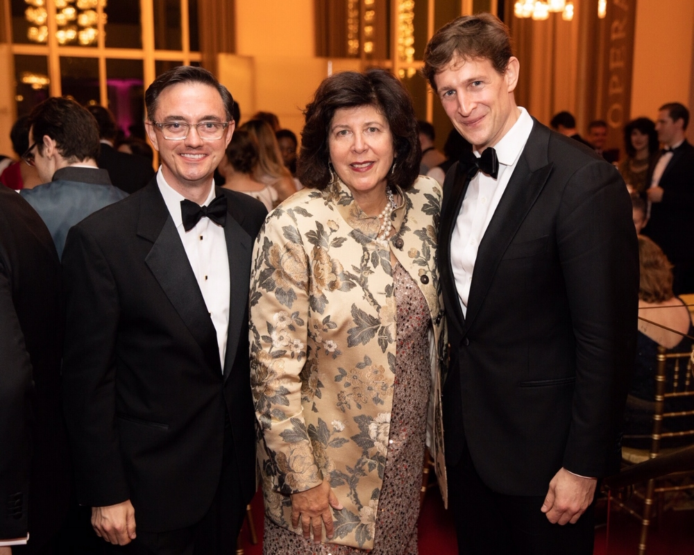 WNO General Director, Timothy O'Leary, Artistic Director, Francesca Zambello, and Principal Conductor, Evan Rogister.   Photo Credit: Elman Studio
