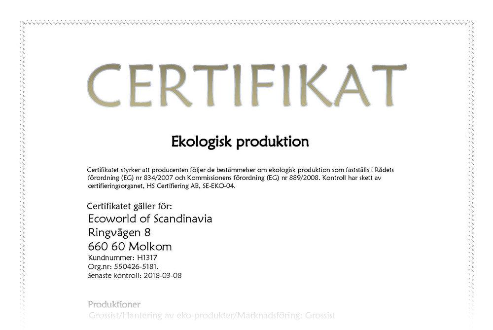 Certifikat Grossist Hantering av eko-produkter Marknadsföring EU.jpg