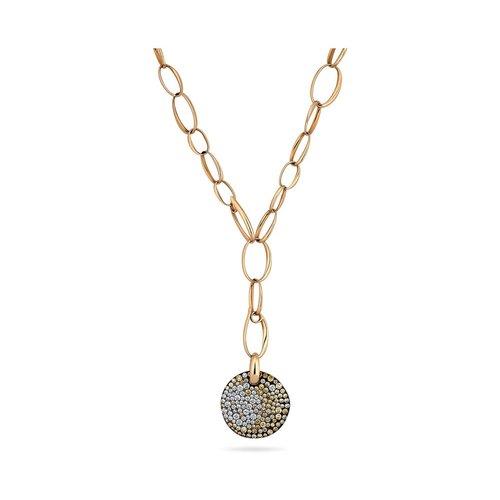 Necklaces steven fox jewelry pomellato sabbia diamond rose gold disc pendant aloadofball Choice Image