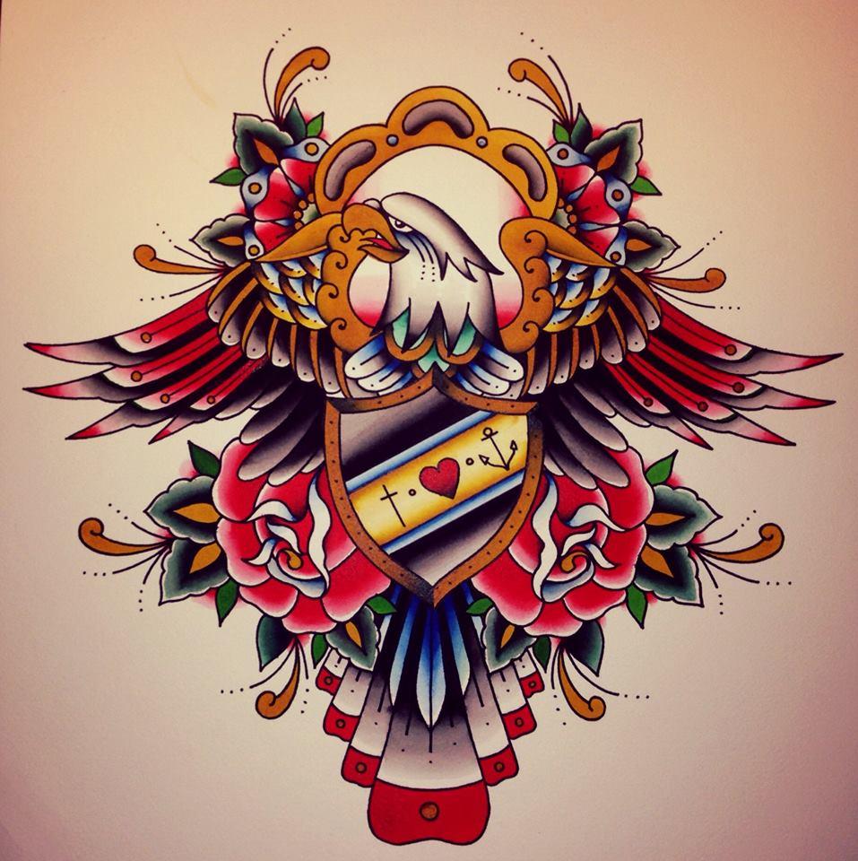 Caro Reichel - Blue Moon TattooDeutschlandBerlin