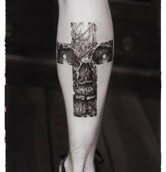 Chris van Bee - Anarchist TattooDeutschlandHeidelberg