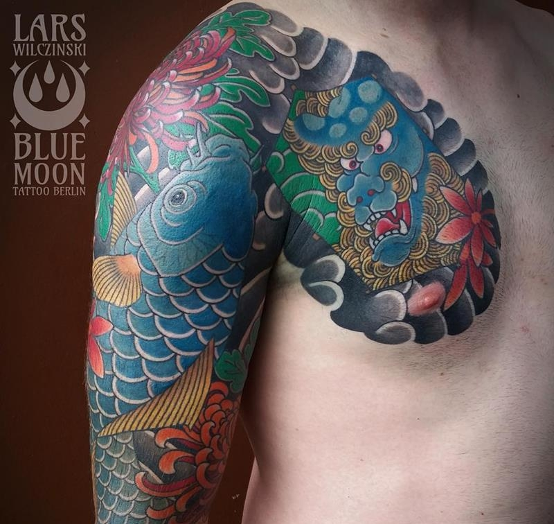 Lars Wilczinski - Blue Moon TattooDeutschlandBerlin