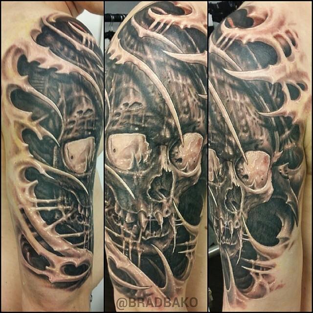 Brad Bako - Tattoo Demon & Fat FinkWien & AustralieWien