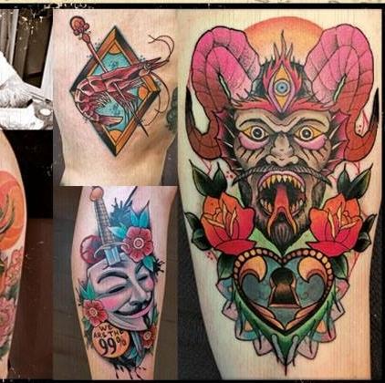 Ollo - Blackroots TattooDeutschlandKöln
