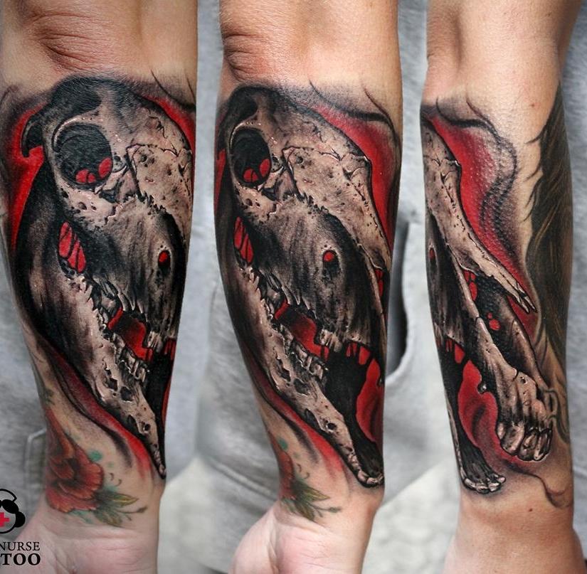 Rafa (Sick Nurse Tattoo) - Drive-Ink SpanienDonostia-San Sebastián