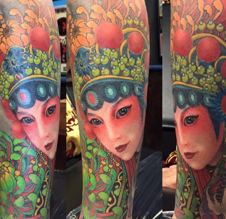 Teng Shih-Chiang - Deng TattooTaiwanTaoyuan City
